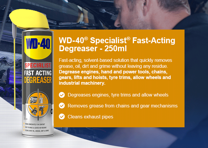 WD-40® Specialist® Fat-acting Degreaser - 250ml