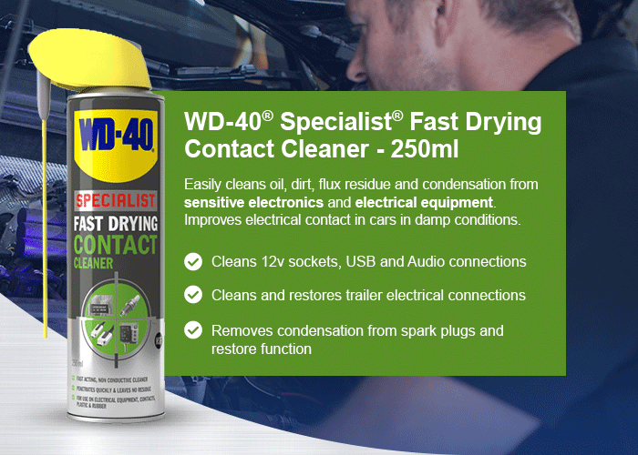 WD-40® Specialist® Fast Drying Contact Cleaner - 250ml