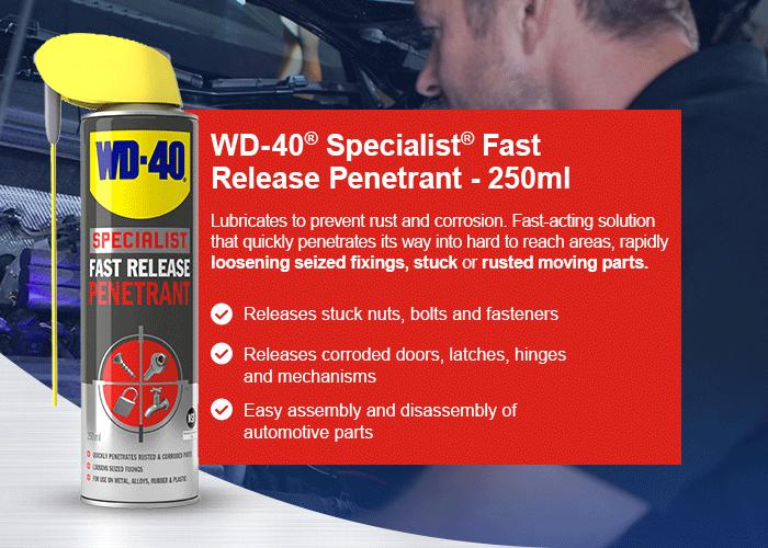 WD-40® Specialist® Fast Release Penetrant - 250ml