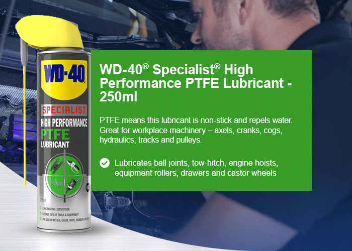 WD-40® Specialist® High Performance PTFE Lubricant - 250ml