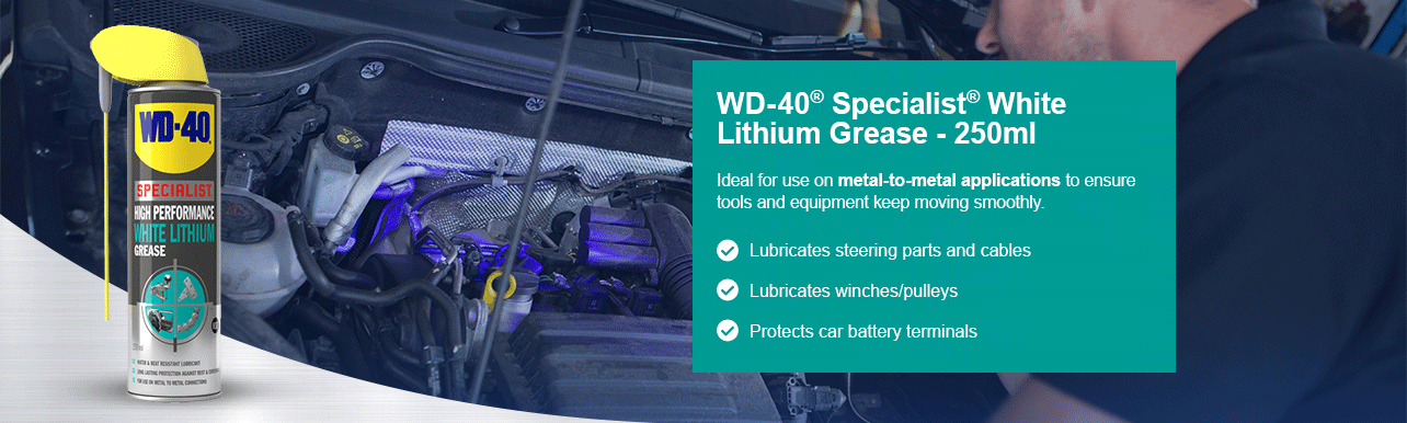 WD-40® Specialist® White Lithium Grease - 250ml