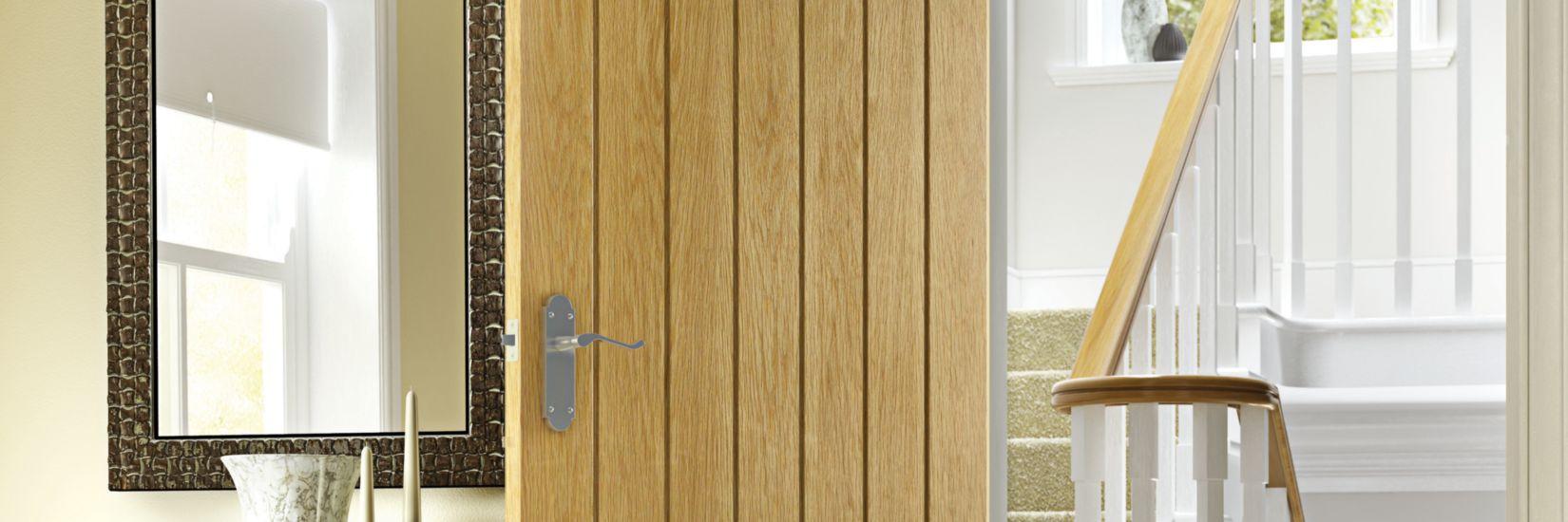 Geneva Oak Cottage Internal Door - 1981mm