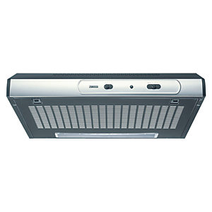 Zanussi Cooker Hood Stainless Steel & Black ZHT631X