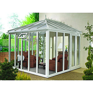 Wickes Edwardian Full Glass Conservatory - 13 x 10 ft