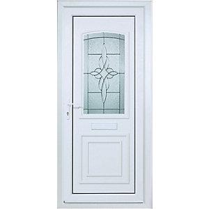 Wickes Medway Pre-hung Upvc Door 2085 x 920mm Left Hand Hung