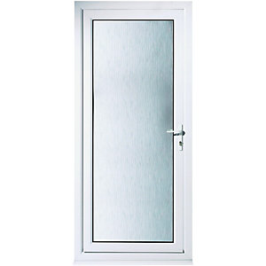Wickes Humber Pre-hung Upvc Back Door 2085 x 840mm Left Hand Hung