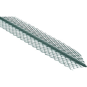 Wickes Galvanised Steel Anglebead - 2.4m