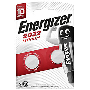 Energizer CR2032 Lithium Coin Batteries - Pack of 2