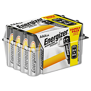 Energizer Alkaline Power AAA Batteries - Pack of 24
