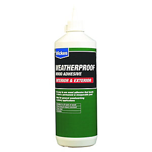 Wickes Weatherproof Wood Adhesive - 1L
