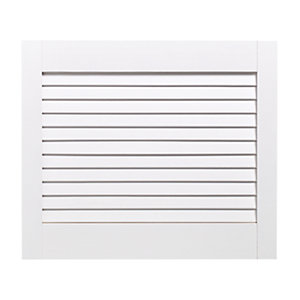 Wickes White Closed Internal Louvre Door - 457mm x 533mm
