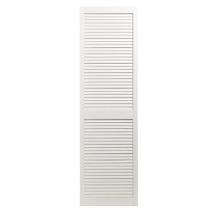 Wickes White Closed Internal Louvre Door - 1829mm x 533mm