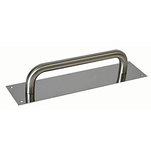 4FireDoors Pull Handle - Satin Stainless Steel 19mm