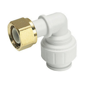 John Guest Speedfit PEMBTC1014P Bent Tap Connector - 10mm x 1/2in