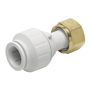 John Guest Speedfit PEMSTC1516P Straight Tap Connector - 15 x 19mm
