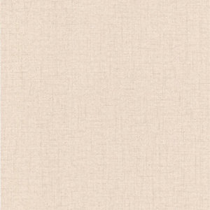 Superfresco Colour Aaron Cream Decorative Wallpaper - 10m