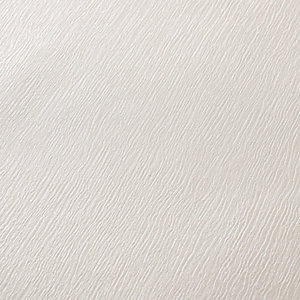 Superfresco Kia White Textured Decorative Wallpaper - 10m