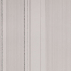 Superfresco Easy Pearl White Gradient Decorative Wallpaper - 10m
