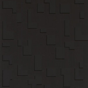 Superfresco Easy Checker Decorative Wallpaper Black - 10m