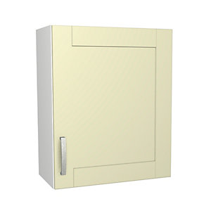 Wickes Ohio Cream Shaker Wall Unit - 600mm
