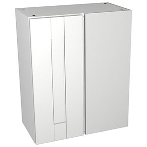 Wickes Vermont White Floorstanding Corner Storage Unit - 600 x 735mm