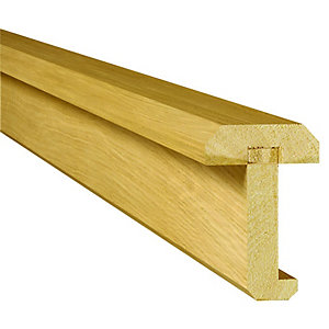 Wickes Contemporary Oak Interior Door Pair Maker