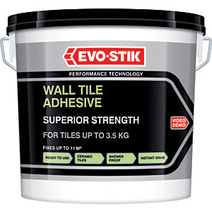 Evo-Stik Wall Tile Superior Strength Adhesive - 10L