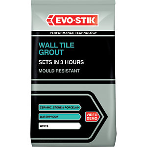 Evo-Stik Mould Resistant Wall Tile Grout 3kg