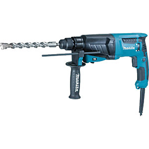 Makita HR2630/2 SDS+ Rotary Corded Hammer Drill - 800W