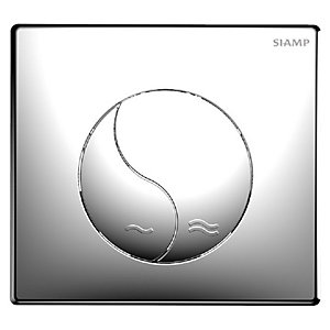 Ying Yang Flush Plate