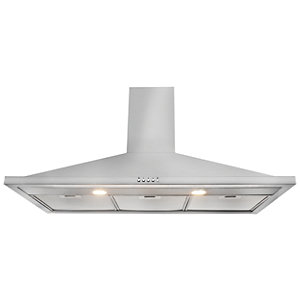 Image of Leisure 100cm Stainless Steel Chimney Cooker Hood H102PX