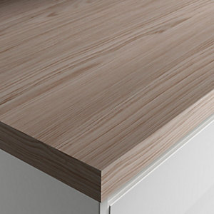 Wickes Wood Effect Laminate Worktop - Cypress Cinnamon 600mm x 50mm x 3m