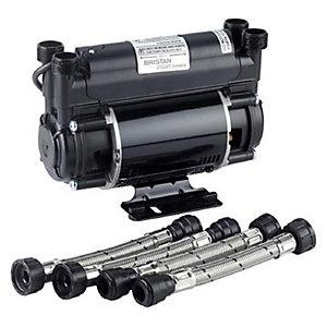 Bristan Impeller Twin Ended 2.0 Bar Shower Pump
