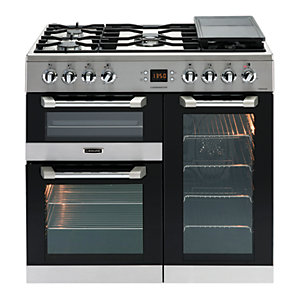 Image of Leisure Cuisinemaster 90cm Dual Fuel Range Cooker - Stainless Steel