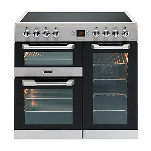 Image of Leisure Cuisinemaster 90cm Electric Range Cooker - Stainless Steel