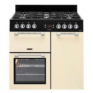 Leisure Cookmaster 90cm Gas Range Cooker - Cream
