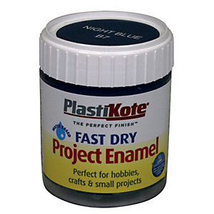 PlastiKote Fast Dry Brush On Enamel - Night Blue 59ml