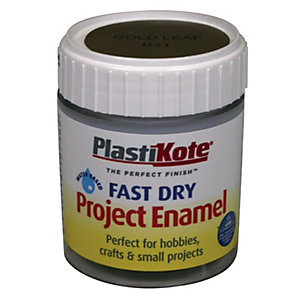 Plastikote Fast Dry Brush On Enamel - Gold Leaf 59ml
