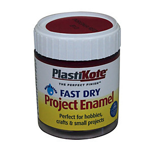 PlastiKote Fast Dry Brush On Enamel - Insignia Red 59ml