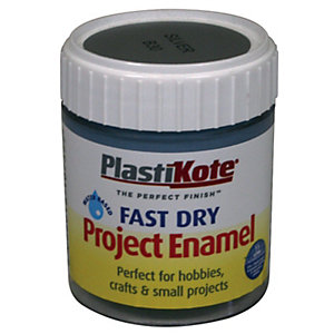 Plastikote Fast Dry Brush On Enamel - Aluminium 59ml
