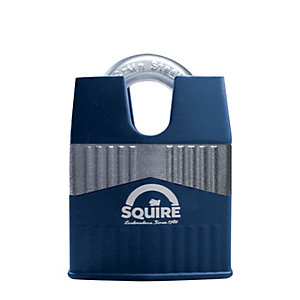 Squire Solid Diecast Body with Closed Boron Shackle Padlock - 55mm