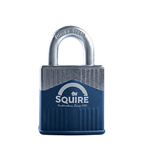 Squire Solid Diecast Body with Boron Shackle Padlock - 45mm