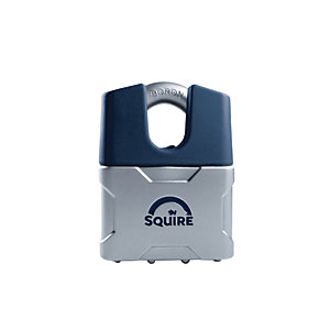 Squire Die Cast Body Cover with Closed Boron Shackle Padlock - 50mm