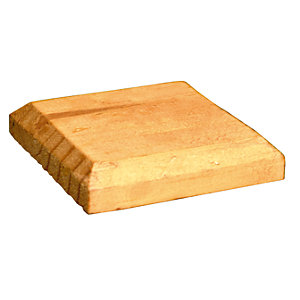 Image of Wickes Timber Fence Post Cap - 125mm X 125mm