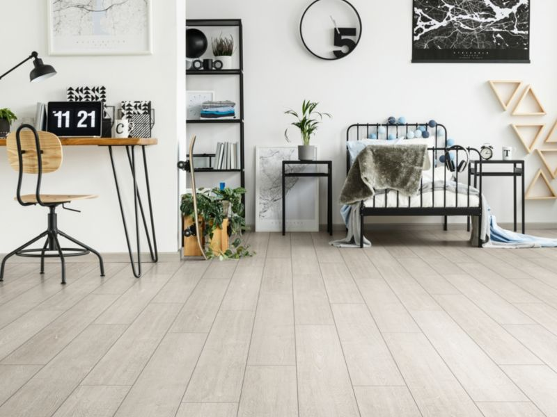 Wickes Albero White Oak Laminate Flooring - 1.48m2 Pack