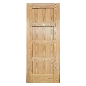Wickes Marlow Oak 4 Panel Shaker Pre Finished Internal Door - 1981mm
