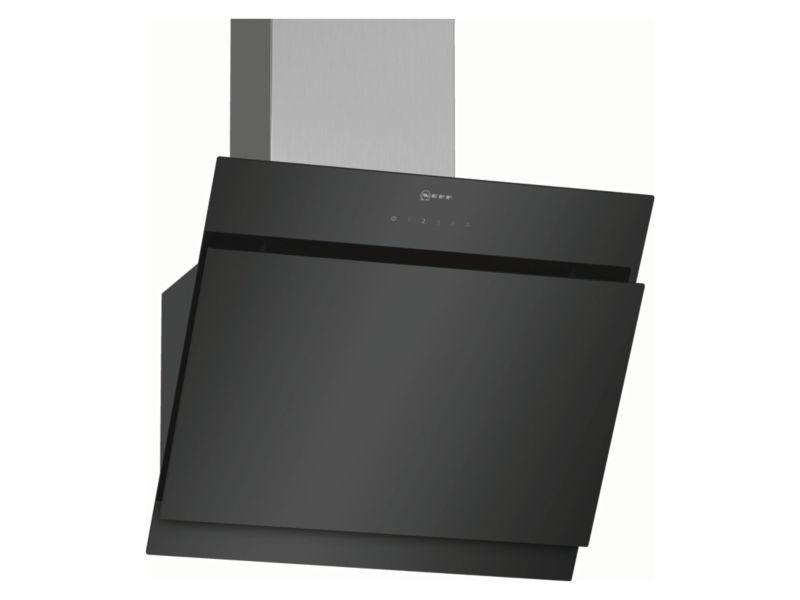 NEFF 60cm Designer Black & Stainless Steel Cooker Hood