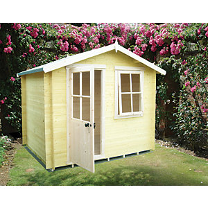 Shire Avesbury 8 x 8ft Traditional Garden Summer House including Opening Window