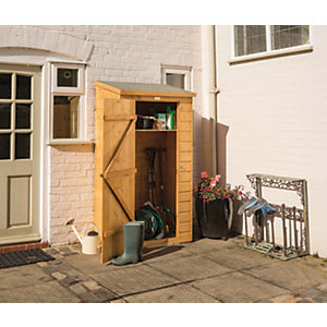 Rowlinson 6 x 3ft Lean-To Midi Garden Tool Storage Shed