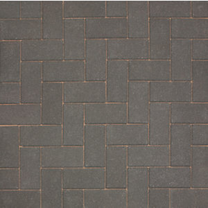 Marshalls Driveline 50 Smooth Driveway Block Paving - Charcoal 200 x 100 x 50mm Pack of 488